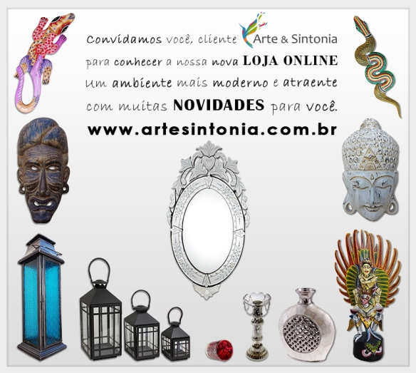 Loja Online - Arte & Sintonia