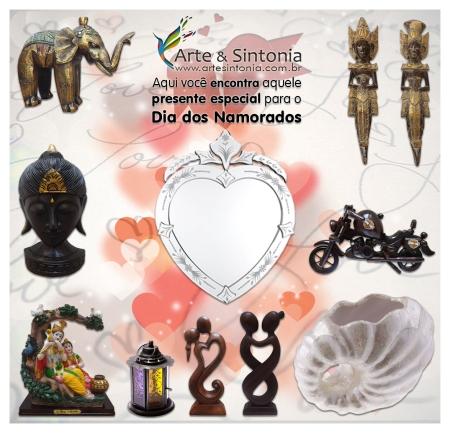 Dia dos Namorados é na Arte & Sintonia - Presentes Diferenciados
