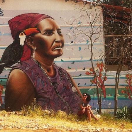 pintura-parede-chapada-veadeiros-kalunga