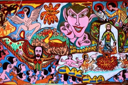 Desenho Moacir - Artista da Vila de São Jorge