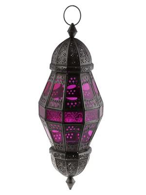 lanterna-vidro-colorido-iluminacao-rustica