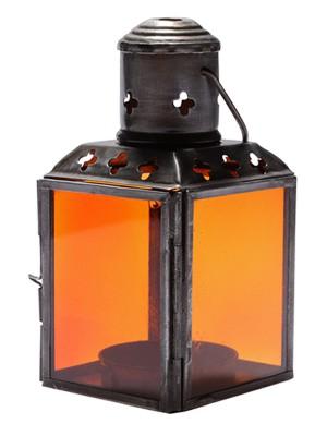 lanterna-rustica-colorida-decoracao-velas