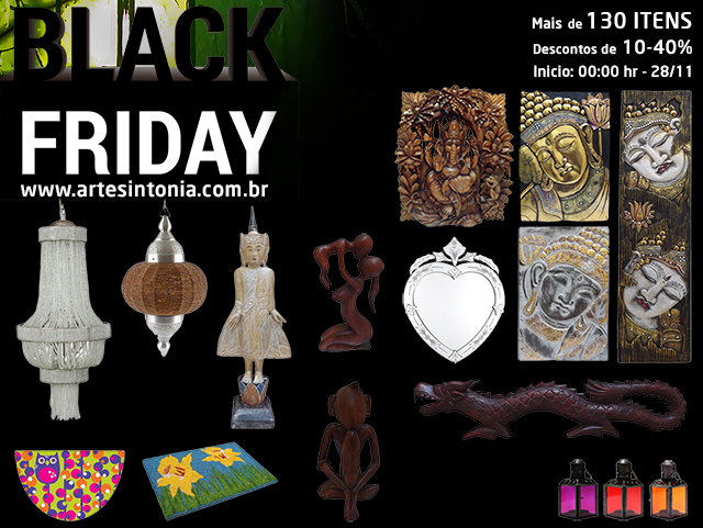 Black Friday de Artesanatos Decorativos
