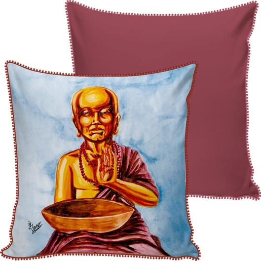 Capa de Almofada Buda