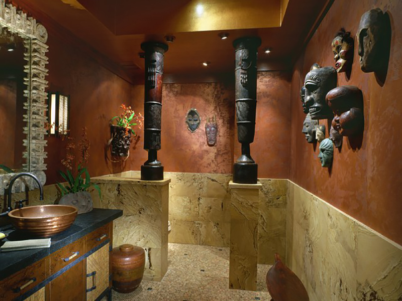 ambiente-decorado-mascaras-madeira-bali-paredes-arte-decorativa-rustico-3