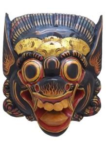 Máscara Barong para Decoração