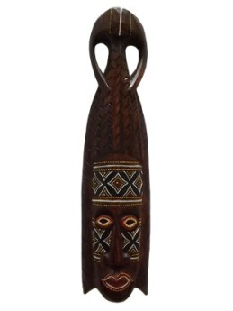 Mascara em madeira Bali