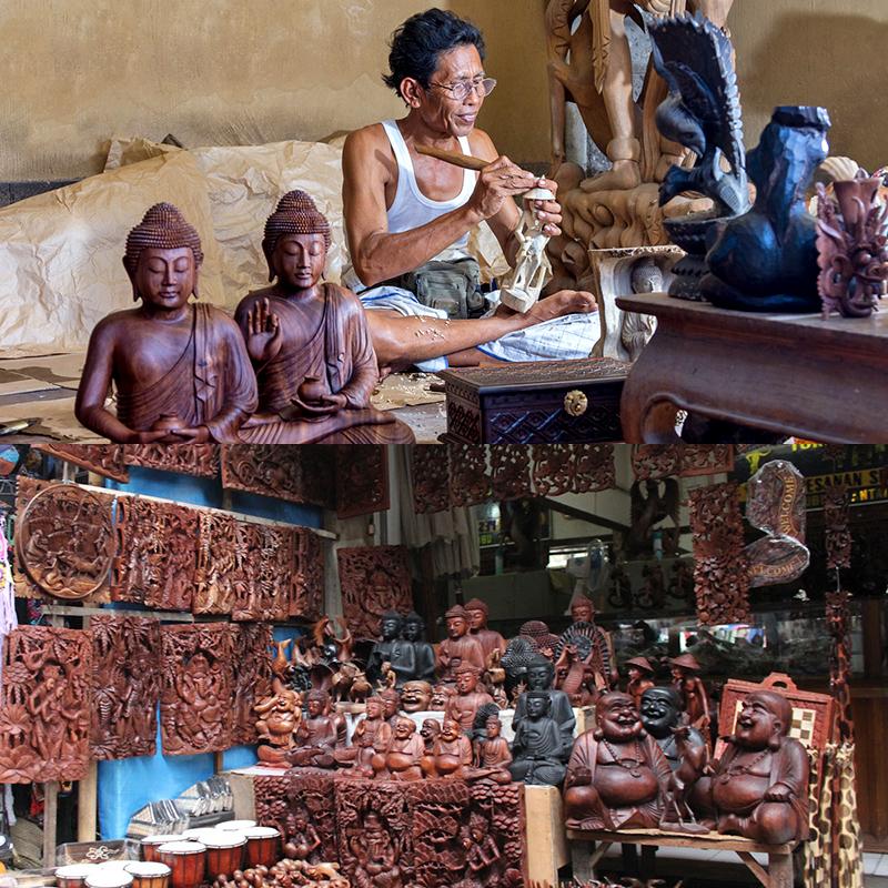montagem-ilha-bali-indonesia-artes-decorativas-madeira-encantos