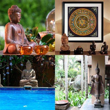 Budas na decoração
