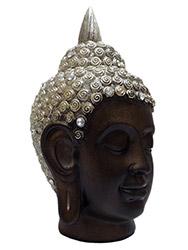 Cabeça de Buda em Resina