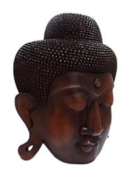 Cabeça de Buda Entalhada Bali