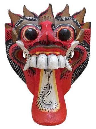 mascara rangda de bali