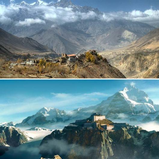 Região do Himalaia