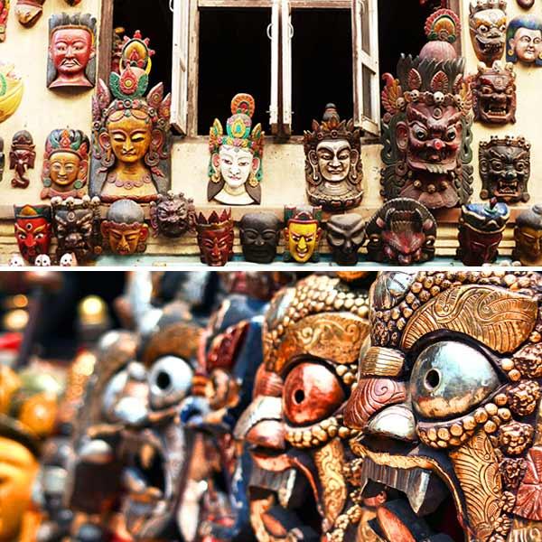 Máscaras do Himalaia
