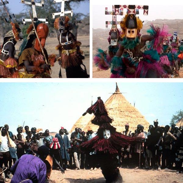 Cerimonias e danças africana