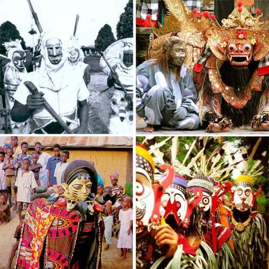 máscaras tradicionais