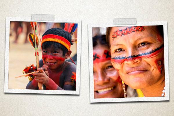 Índios-Arco-e-Flecha-Felicidade