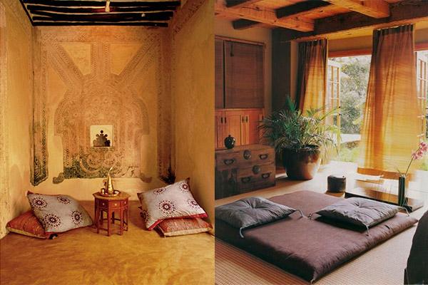 Ambiente-decor-tapetes-almofadas-meditação