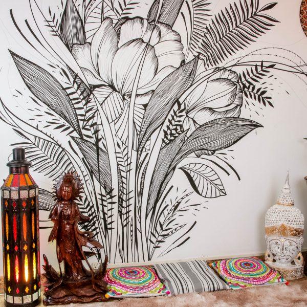 kuan-yin-escultura-arte-decorativa-proteção-ambiente-buda