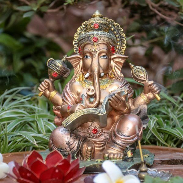 escultura-decorativa-ganesha-deidade-hindu