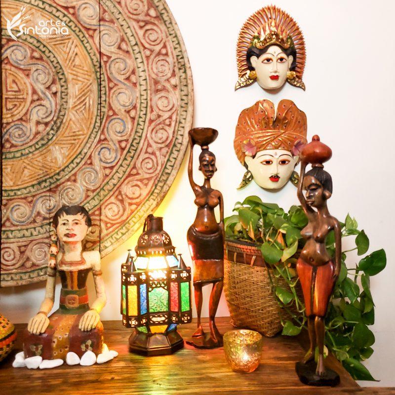 decoracao-esculturas-africanas-mascaras-bali-mandala-timor-leste