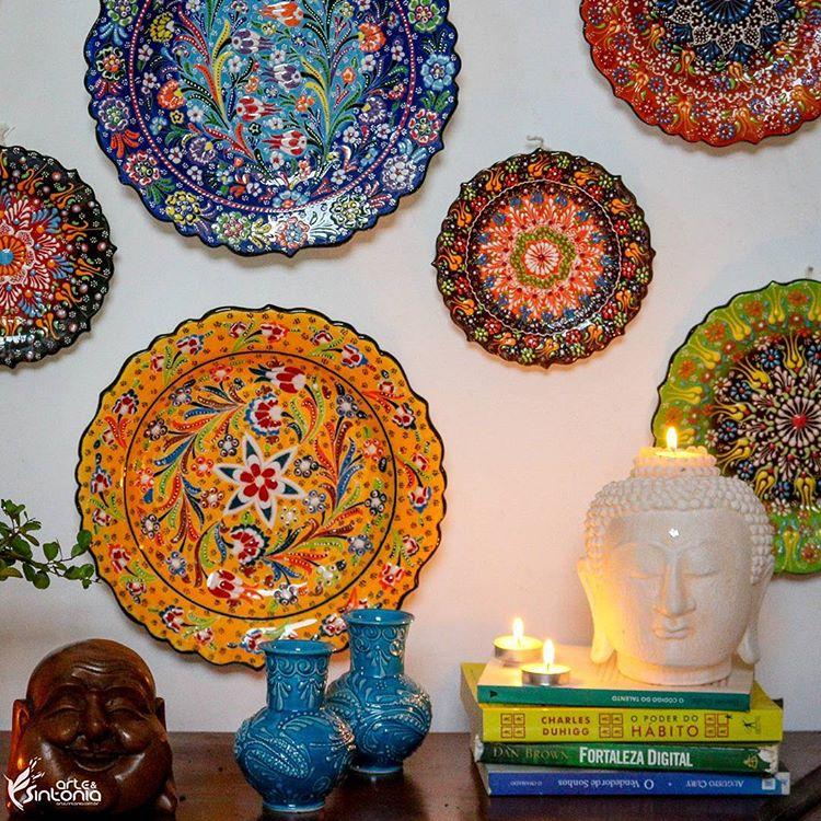 prato-de-parede-ceramica-turca-pintura-floral-artesanal