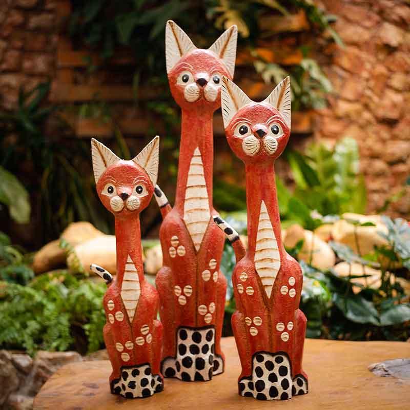 esculturas-gatos-decoração-animais-misticos-egipcio