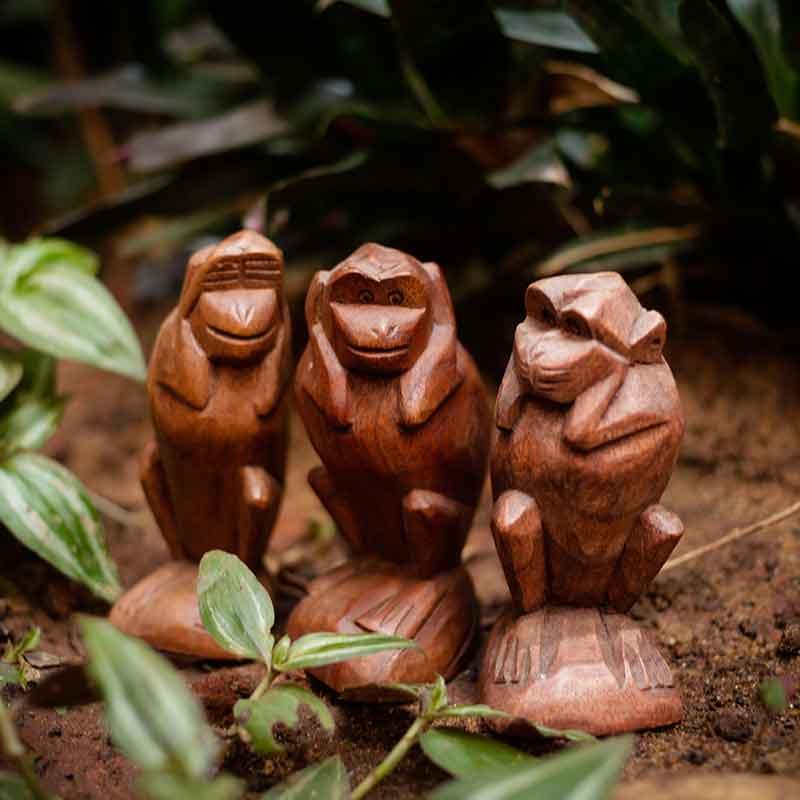estatuas-macacos-sabios-decoracao-arte-budista