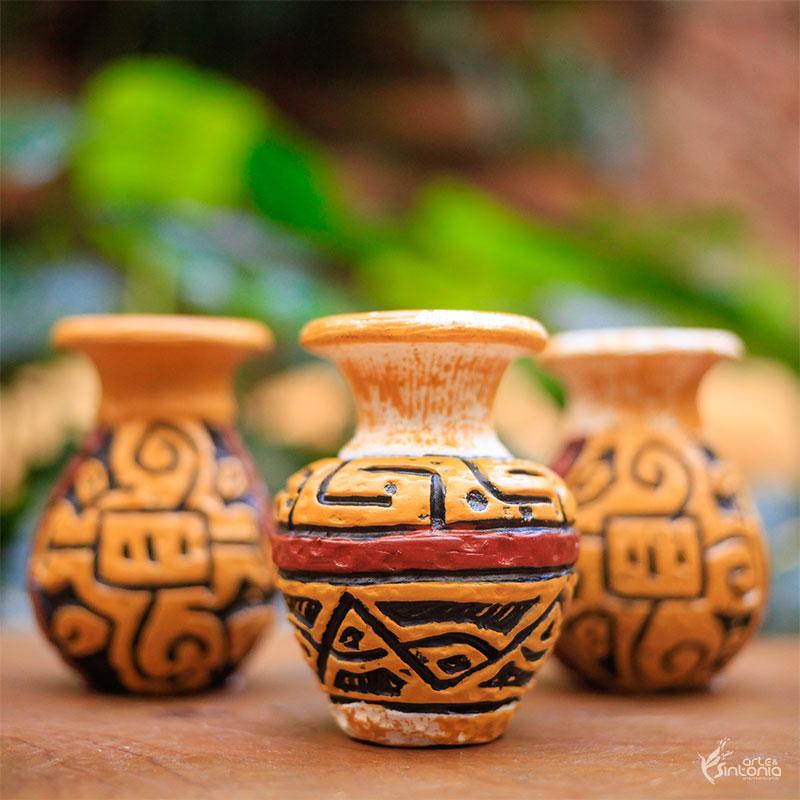 trio-vasos-ceramica-decoracao-rustica-arte-rupestre