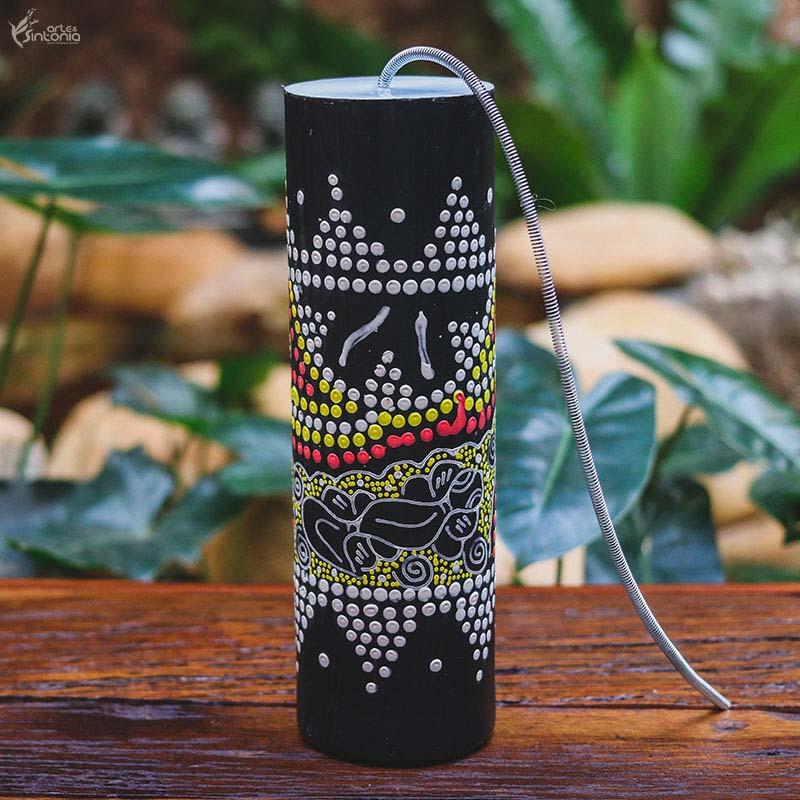 instrumento-muscial-indonesia-petir-gecko-colorido