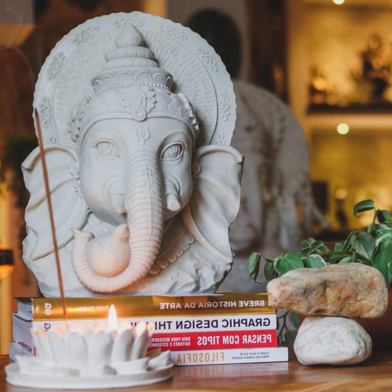decoracao-zen-deus-hindu-ganesha-pedras-porta-vela-incensario-lotus-marmorite