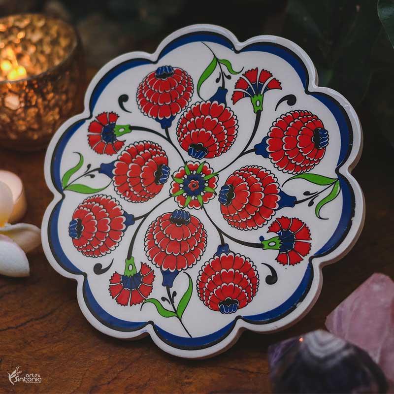 suporte-panela-ceramica-artesanal-colorida-floral-turco-antigo