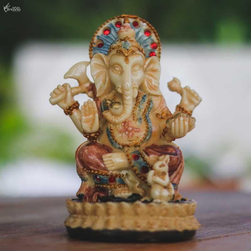 artesanato-resina-decoracao-deus-elefante-ganesha-deus-kroncha
